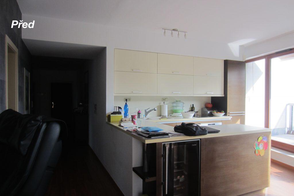 Prague, CZ, Před, Before, kuchyň, kitchen