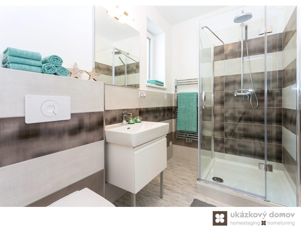 Prague, CZ, nezařízené, koupelna