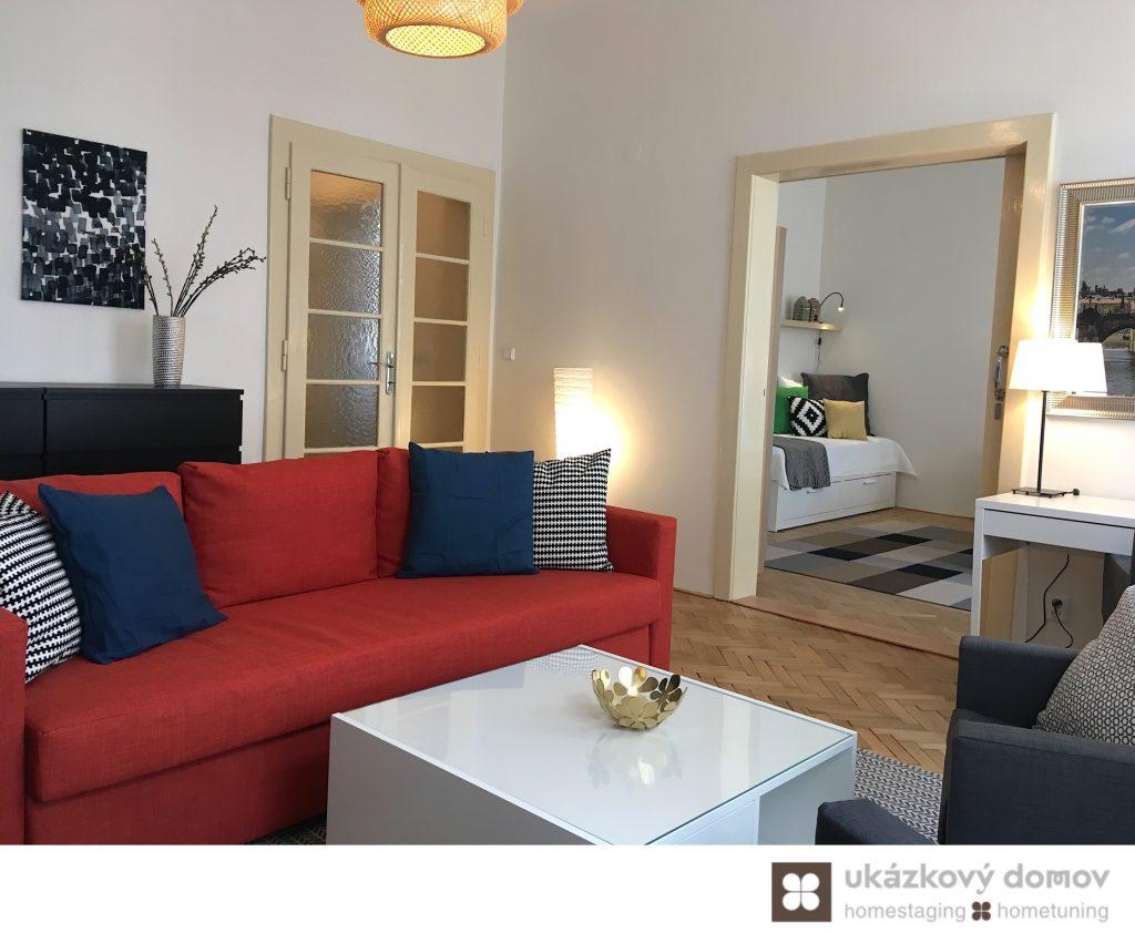 Design bytu Praha Prague, CZ, Czech Republic, Home Staging
